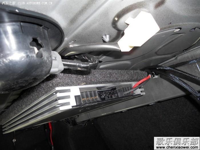 马自达睿翼汽车音响改装歌乐车载cd机dxz786usb完美
