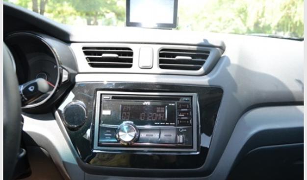 欧辰_起亚锐欧音响改装JVC车机KD-R400 音质型CD机 改装效果图_杰伟世JVC ...