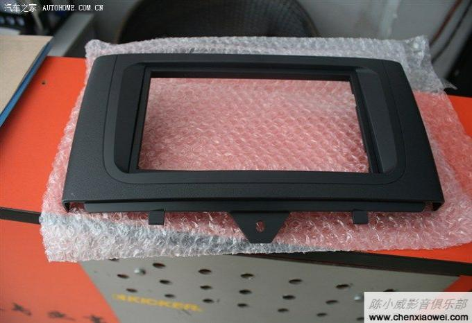 奔驰smart音响改装升级导航歌乐nx501c ii 高清图片