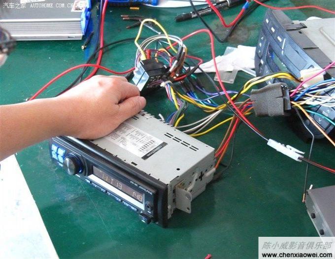 奇瑞汽车qq改装_奇瑞QQ改装阿尔派USB数字播放器 UTE-32C 小巧神器媲美CD机_阿尔派 ...