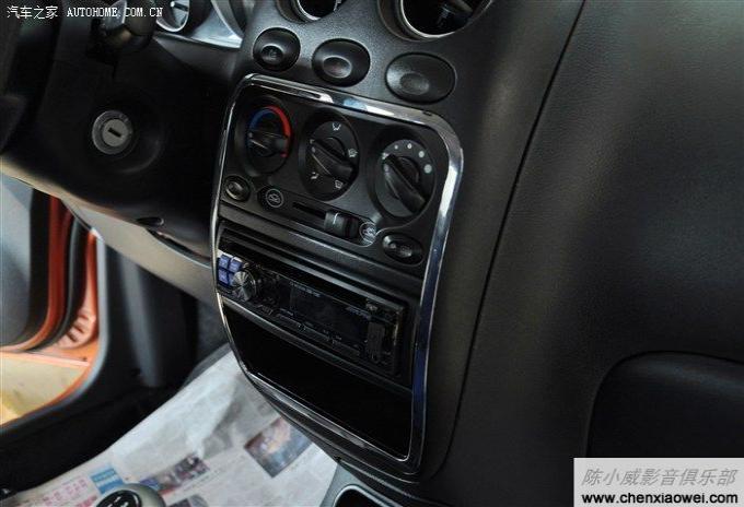 新捷达改装效果图_宝骏乐驰改装阿尔派CD机 CDE-110C 全车喇叭 加装低音炮 施工图过程 ...