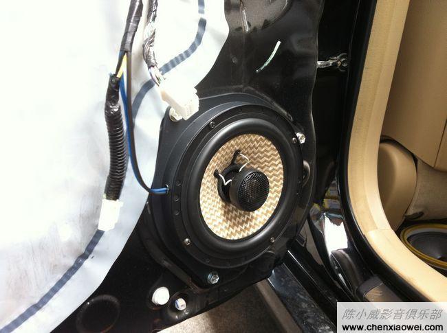08款锐志音响系统升级歌乐nx501cii导航dvd