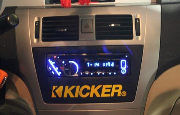 长城腾翼C30音响改装建伍KDC U5053 功放 喇叭 隔音 改装效果图 建