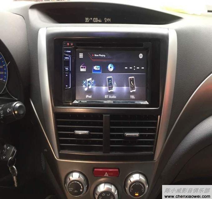 君越导航地图_Ford 福特Ranger汽车音响改装升级建伍DDX6033BTC电动下滑屏幕DVD机 可 ...